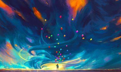 Hombre-con-globos-de-colores