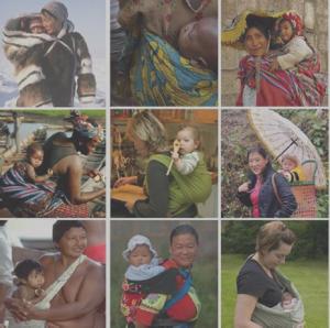 Imagen tomada de la formación de la Asociación Internacional de Masaje Infantil
