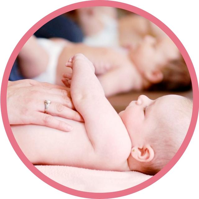 Centro ELLE - Curso masaje infantil y recuperación postparto